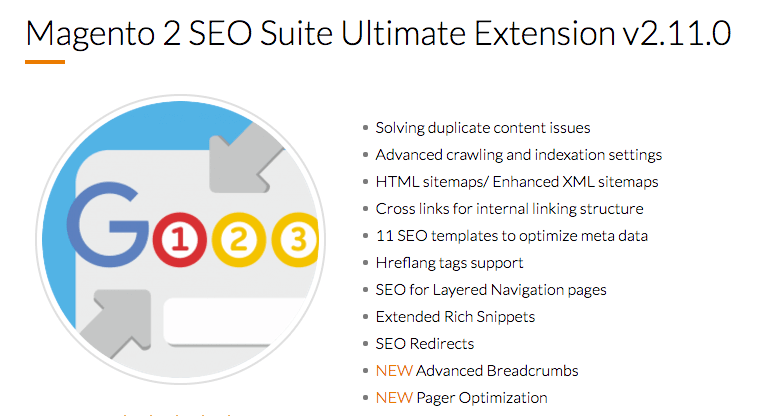 Magento 2 SEO Suite Ultimate Extension
